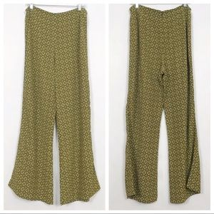 Urban Outfitters | Wide Leg Pants | Small | Yellow